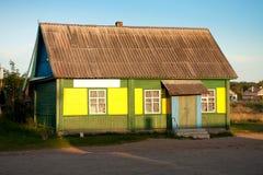 Village shop in Russia. Stock Photos