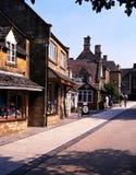 Village shops, Broadway. Royalty Free Stock Photo