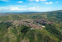 Village in Sicily Royalty Free Stock Photos