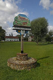 A Village Sign Royalty Free Stock Image