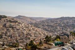 Village of Siloam in Jerusalem, Israel Royalty Free Stock Photography