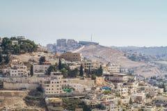Village of Siloam in Jerusalem, Israel Royalty Free Stock Photos