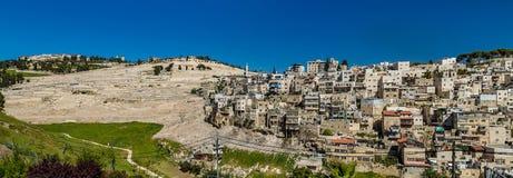 Village of Siloam in Jerusalem, Israel Stock Photo
