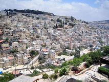Village  Silwan Royalty Free Stock Photo