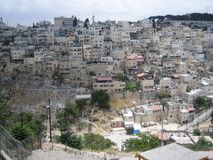 Village  Silwan Royalty Free Stock Images