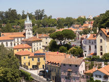 The village of Sintra Portugal Royalty Free Stock Images