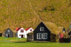 A village Skougar. Iceland Stock Image