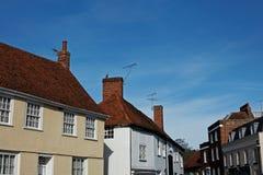Village Skyline,UK Royalty Free Stock Images