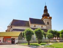 Village in Slovakia, Stitnik Royalty Free Stock Image
