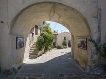 Village of Smartno, Goriska Brda, stock image