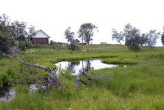 Village Solovki Stock Images