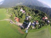 Village. Somewhere around Zakojca Stock Photos