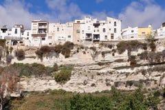 Village Sorbas,Spain,Europe. Beautiful village of area Taberna desert,Andalusia,Spain Stock Photo
