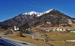 Village Sorica, Slovenia. Village Sorica in the west part of Slovenia stock photography