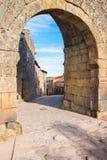 Village of Sortelha. Entrance to historical village of Sortelha, Portugal Stock Photo
