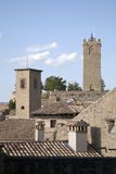 Village of Sos de los Reyes Catolicos, Aragon. Village of Sos de los Reyes Catolicos in Aragon, Spain Royalty Free Stock Photo