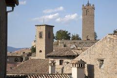 Village of Sos de los Reyes Catolicos, Aragon Stock Photography