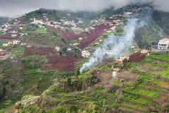 Village on the south coast of Madeira island, Câmara de Lobos - Portugal Stock Photography