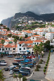 Village on the south coast of Madeira island, Câmara de Lobos - Portugal Royalty Free Stock Image