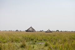 Village in South Sudan Stock Images