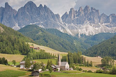 village in South Tyrol Stock Photography
