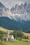 village in South Tyrol Royalty Free Stock Images