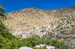 Village in southern Morocco Royalty Free Stock Photo
