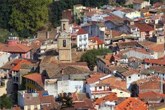 Village in Spain. Arbucies old village, Catalunia, Girona - Spain Stock Photos