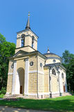 Village Spassky-lutovinovo. Church. Russia. Royalty Free Stock Images