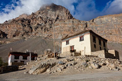 Village in Spiti Valley Royalty Free Stock Photography