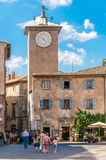 The Village Square at Orvieto Royalty Free Stock Photography