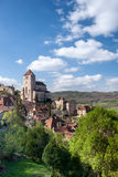 Village of St Cirq La Poppie Lot France Stock Photo