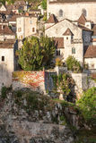 Village of St Cirq la Poppie Stock Image