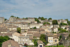 Village of St Emilion. Picture of old houses in the Village of St Emilion Royalty Free Stock Photography