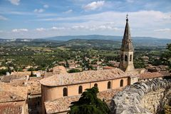 The village of St. Saturnin-Les-Apt Stock Images