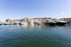 Village of St. Tropez Royalty Free Stock Photography