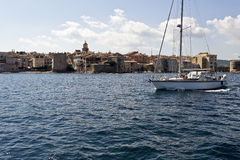 Village of St. Tropez Stock Photo