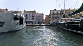Village of St. Tropez Royalty Free Stock Photos