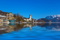 Village St Wolfgang - Austria Royalty Free Stock Images
