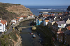 Village of Staiths - Yorkshire Coast - England Stock Photos