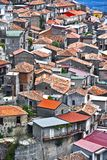 The village of Staiti in the Province of Reggio Calabria, Italy.  Stock Images
