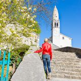 Village of Stanjel, Slovenia, Europe. Stock Images