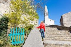 Village of Stanjel, Slovenia, Europe. Stock Photo