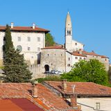 Village of Stanjel, Slovenia, Europe. Royalty Free Stock Images