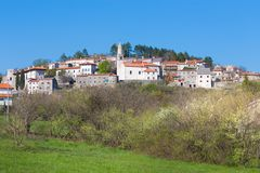 Village of Stanjel, Slovenia, Europe. royalty free stock photos