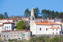 Village of Stanjel, Slovenia, Europe. stock images