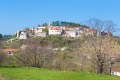 Village of Stanjel, Slovenia, Europe. Stock Photography
