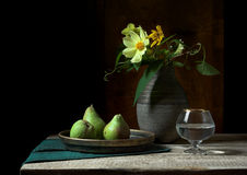 Village still life in green Royalty Free Stock Photo