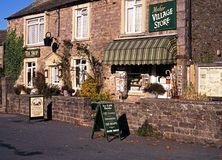 Village store in Muker, Yorkshire Dales. Stock Image