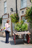 Village Store - Village Shop - Hovingham - North Yorkshire - UK royalty free stock photos